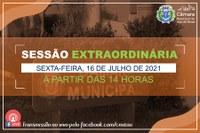 COMUNICADO DE SESSÃO EXTRAORDINÁRIA