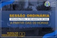 COMUNICADO DE SESSÃO ORDINÁRIA